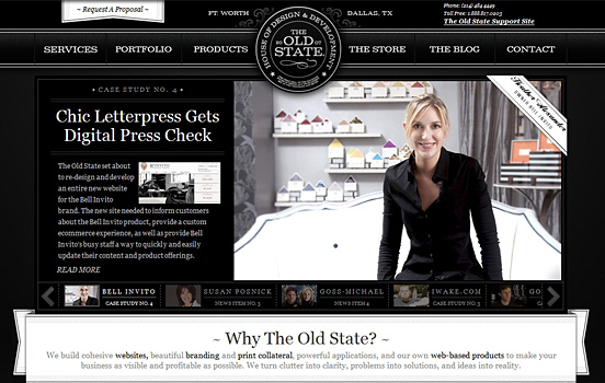 The Old State, Top Black & White Websites