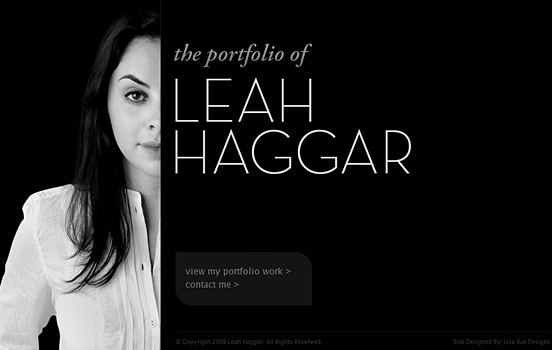 Leah Haggar, Top Black & White Websites
