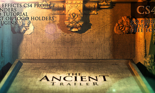 16 the ancient trailer 200+ After Effect Projects