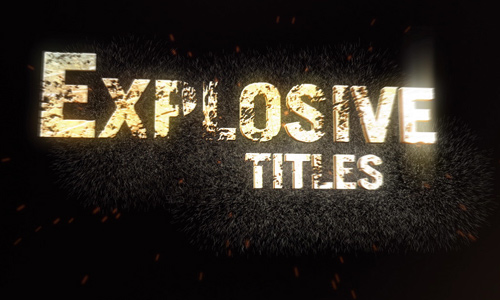 21 explosive titles trailer 200+ After Effect Projects