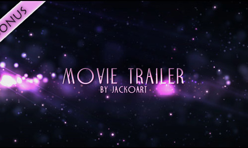25 movie trailer 200+ After Effect Projects