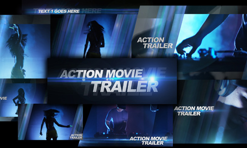 29 action movie trailer 200+ After Effect Projects