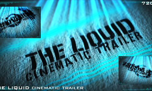 41 liquid cinematic trailer 200+ After Effect Projects