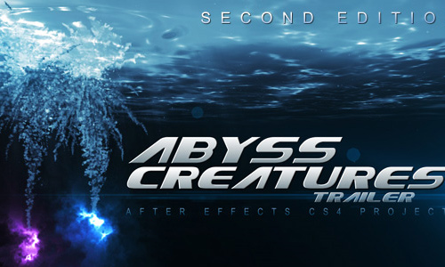 5 abyss creatures trailer 200+ After Effect Projects