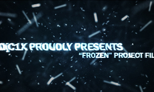50 frozen 200+ After Effect Projects
