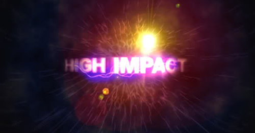 high impact after effect