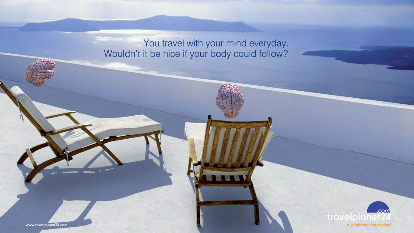 Relax Your Mind Advertisement