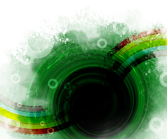Green Photoshop Background