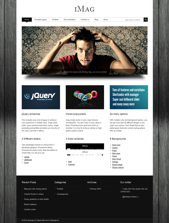 iMag WordPress Premium Theme