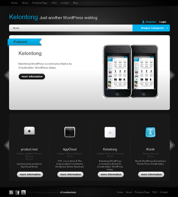 kelontong wordpress premium theme download