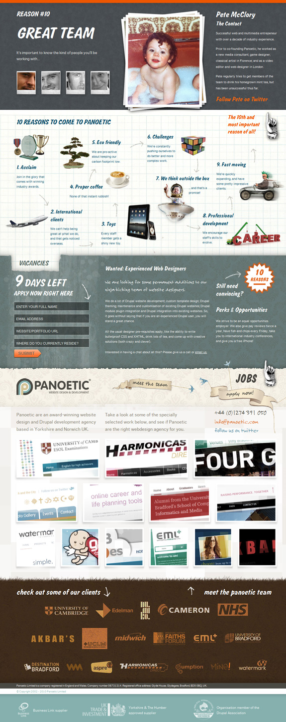 Panoetic, Webdesign and Development Company