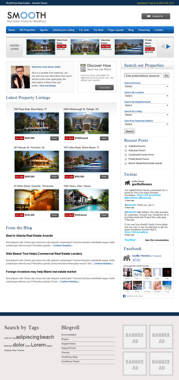smooth premium wordpress theme download
