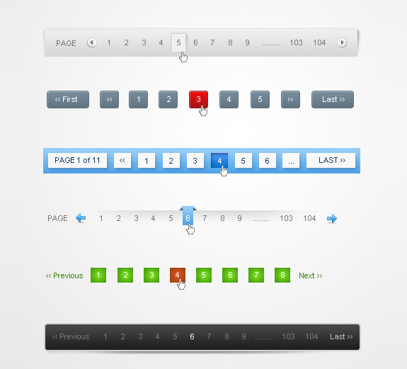 Pagination Designs