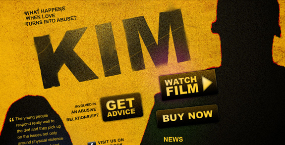 Kim The Movie, Web Layouts and Interfaces