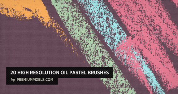 Oil Pastel Brushes, Open Source Web Design Resources