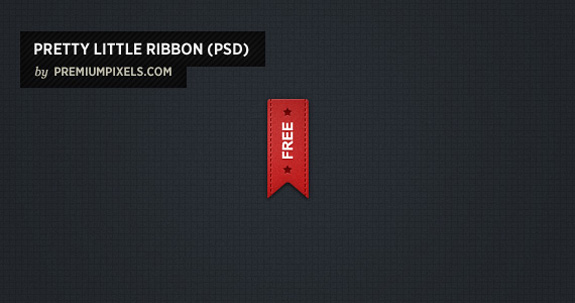 Ribbon Psd, Open Source Web Design Resources