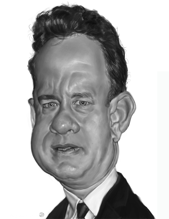 Tom Hanks Caricature