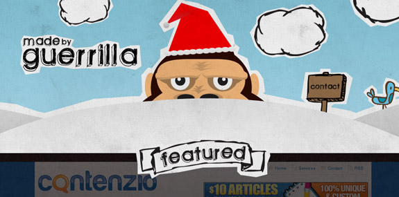 Guerrilla, Website Background Designs, Trends and Resources