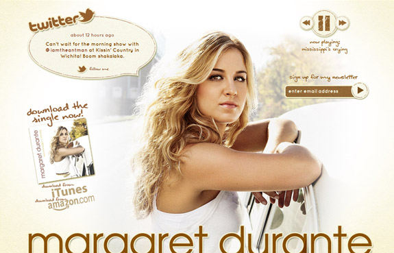 Mararret Durante, Website Background Designs, Trends and Resources