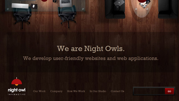 Night Owl, Website Background Designs, Trends and Resources