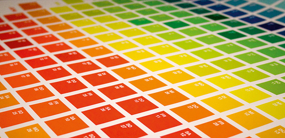 The Color Spectrum, 2011 Calendar Design