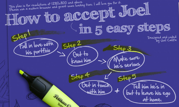 Accept Joel, Web Design Firm