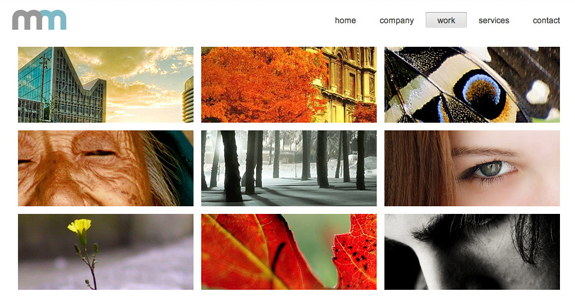 Modern Business, WordPress Gallery of Photography Themes