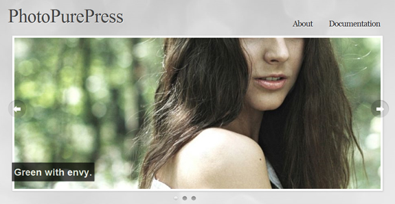 PhotoPurePress, WordPress Gallery of Photography Themes