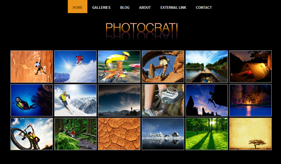 Photocrate, WordPress Gallery of Photography Themes