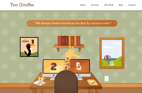 Two Giraffes, Web Design Firms