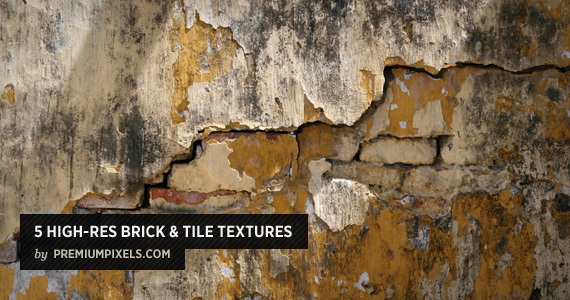 5 High Resolution Brick and Tile Textures