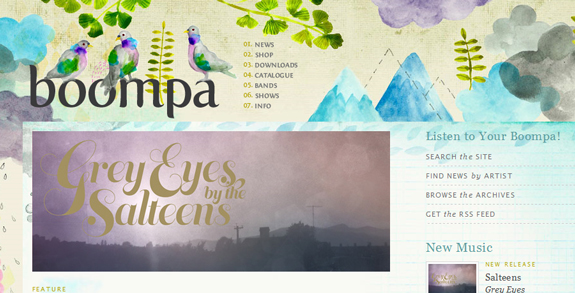 Boompa, Unique Blog Header Designs