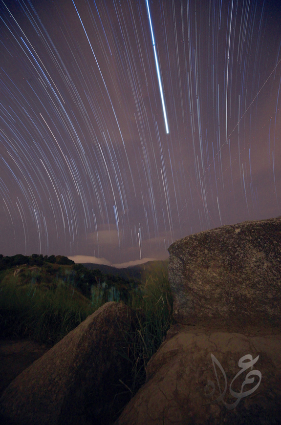 Broga Hills, Meteor Shower Photography
