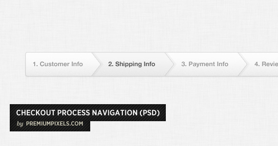 Checkout Process Navigation