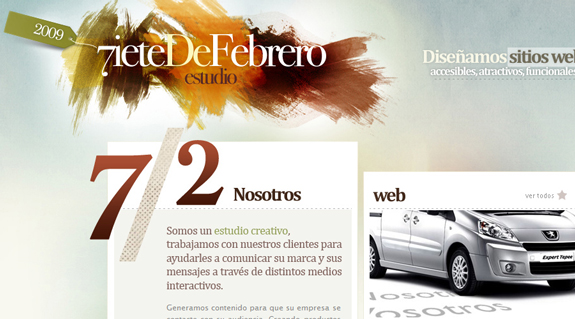 Siete De Febrero, Unique Blog Header Designs