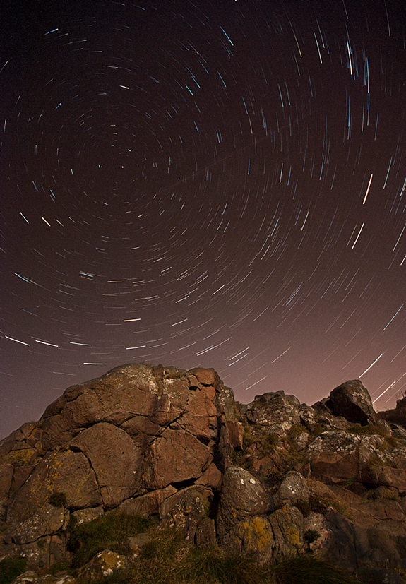 Star Trail or Meteor Shower Photography