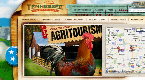 Tennessee, Unique Blog Header Designs
