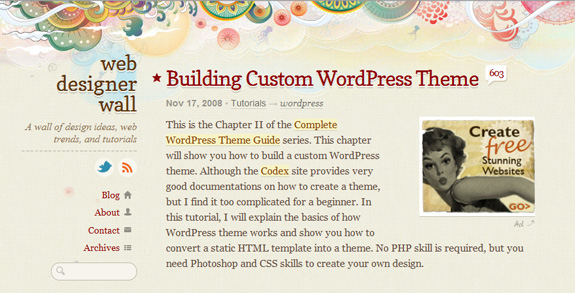 Building Custom WordPress Theme