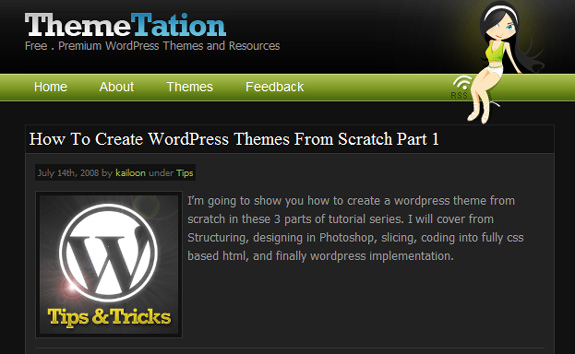 Create WordPress Themes