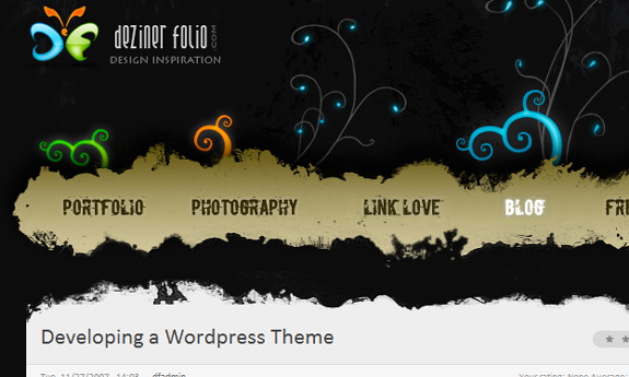 Developing a WordPress Theme