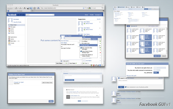 Facebook UI Toolkit