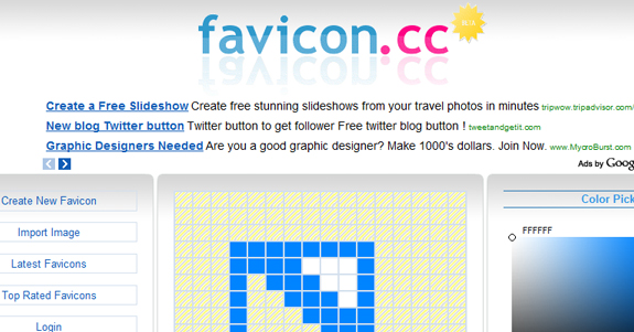 Favicons, Useful Sites Web Designers and Developers