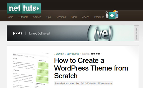 how to create wordpress theme from scratch WordPress Theme Development Tutorials