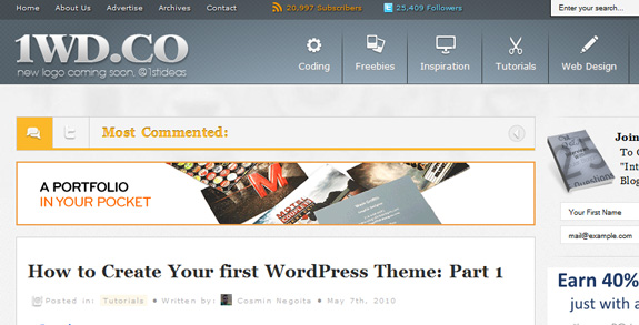 how to create your first wordpress theme WordPress Theme Development Tutorials