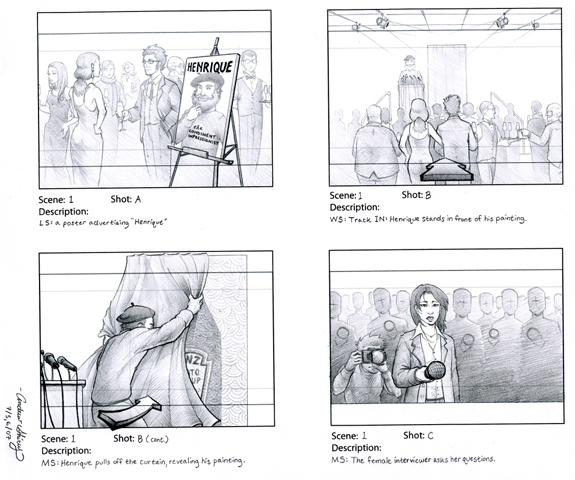 Storyboard Template Psd For Your Pre-Production | The Design Work