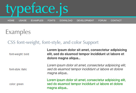 Typeface, Embed Custom Fonts to HTML