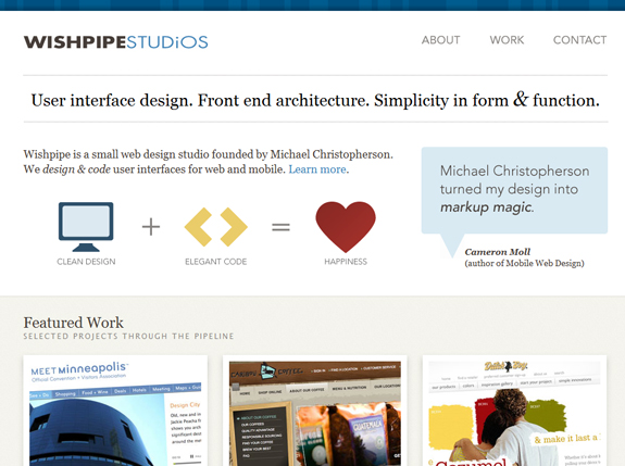 Wishpipe Studios, Web Design Firm