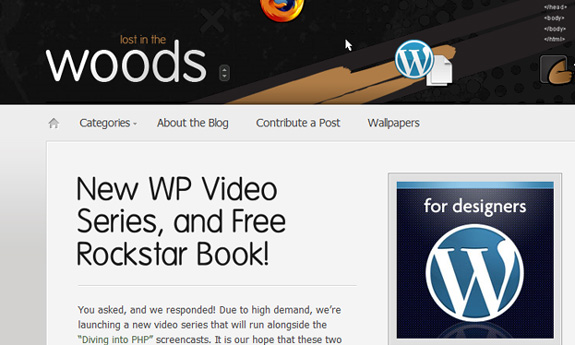 wordpress for designers WordPress Theme Development Tutorials