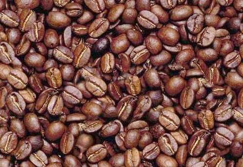 Find the Man in Coffee Beans