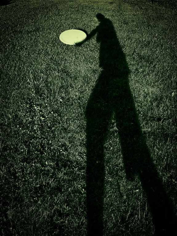 Shadow Frisbeeing